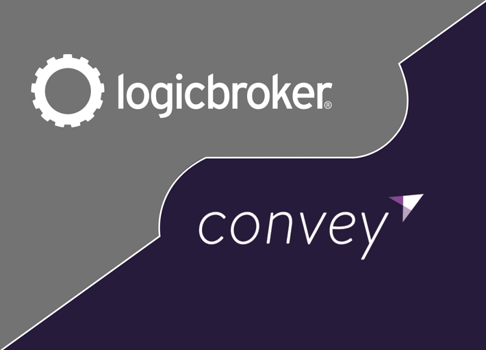 Logicbroker and Convey hero graphic image