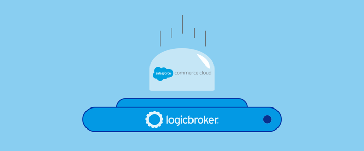 Salesforce Commerce Cloud graphic - Logicbroker